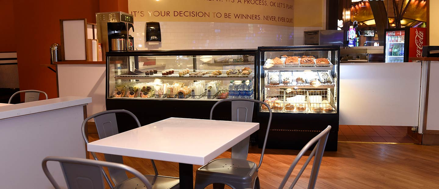 Skyrise Bakery Counter and pastry case