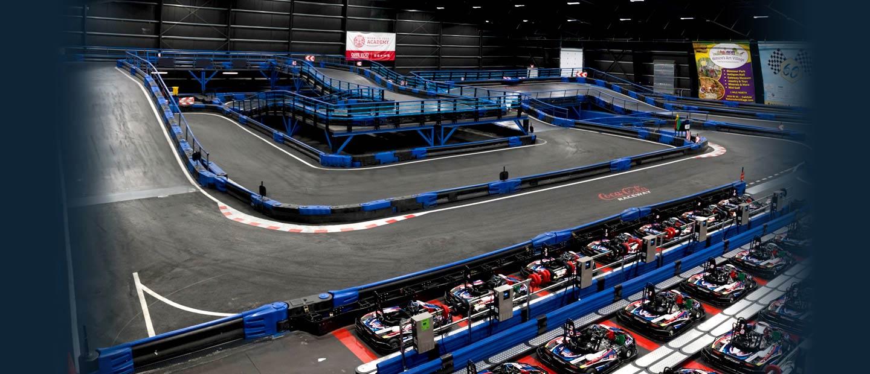 Supercharged | Indoor Kart Racing & Trampoline Park