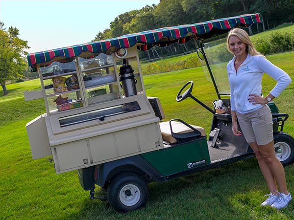 Triple Tee Beverage Cart