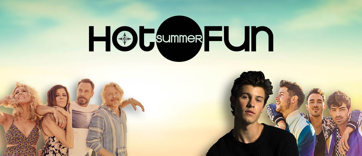 Hot Summer Fun at Mohegan Sun