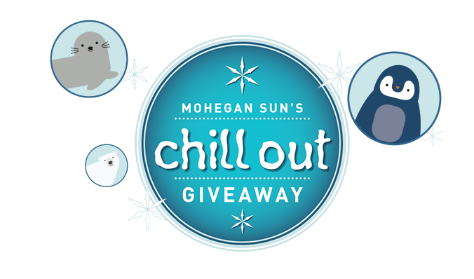 Chill Out Giveaway Logo with Animal Illustrations