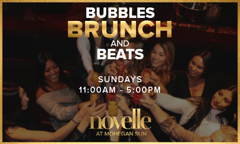 Bubbles, Brunch & Beats at novelle
