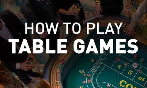 Casino Table Games in CT | Mohegan Sun