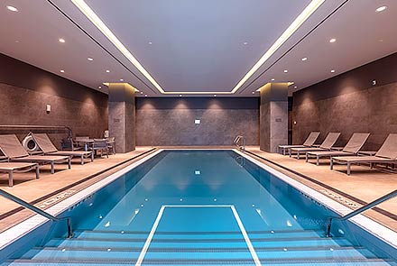 Indoor Pool at Earth Tower