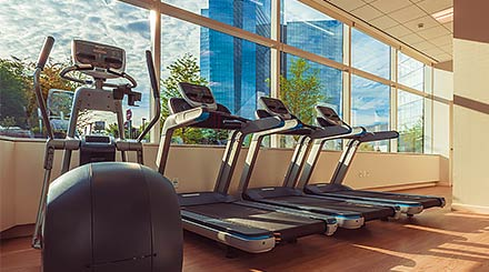Fitness Center at Mohegan Sun Hotel